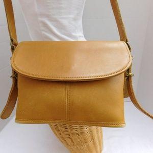 COACH 9801 Legacy Equestrian Tan Glove Leather Bag